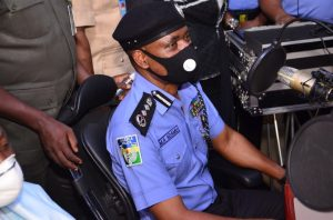 The Inspector General of Police, IGP M.A Adamu, NPM, mni today, 31st March, 2021 commissioned the new Nigeria Police Radio