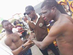 Two thieves caught while trying to steal generator in Ibadan