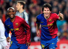 'Messi played with ME' - Eto'o replies about his time with the Argentine