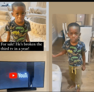 Lol! Comedian Bovi puts his son up for 'sale'