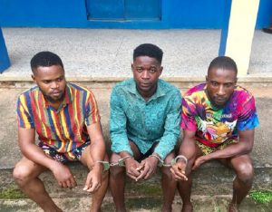 3 suspected cultists