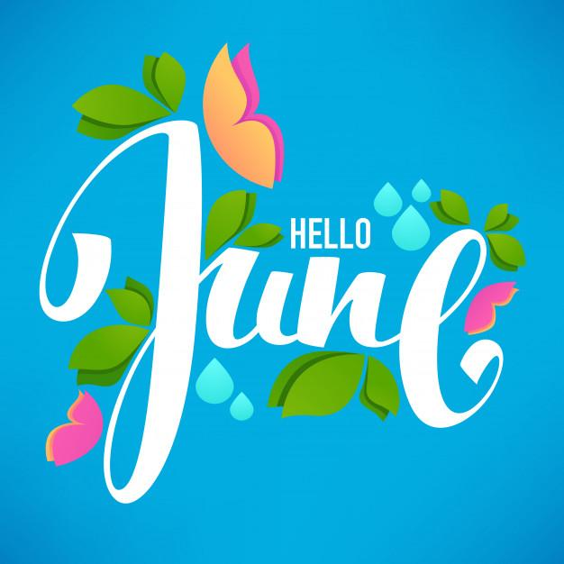 welcome to a new month