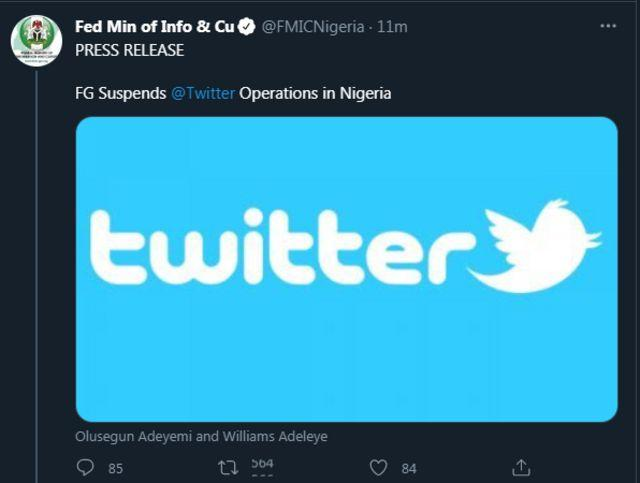 #TwitterBan: Nigerians Shock FG As Many Still Have Access To Twitter