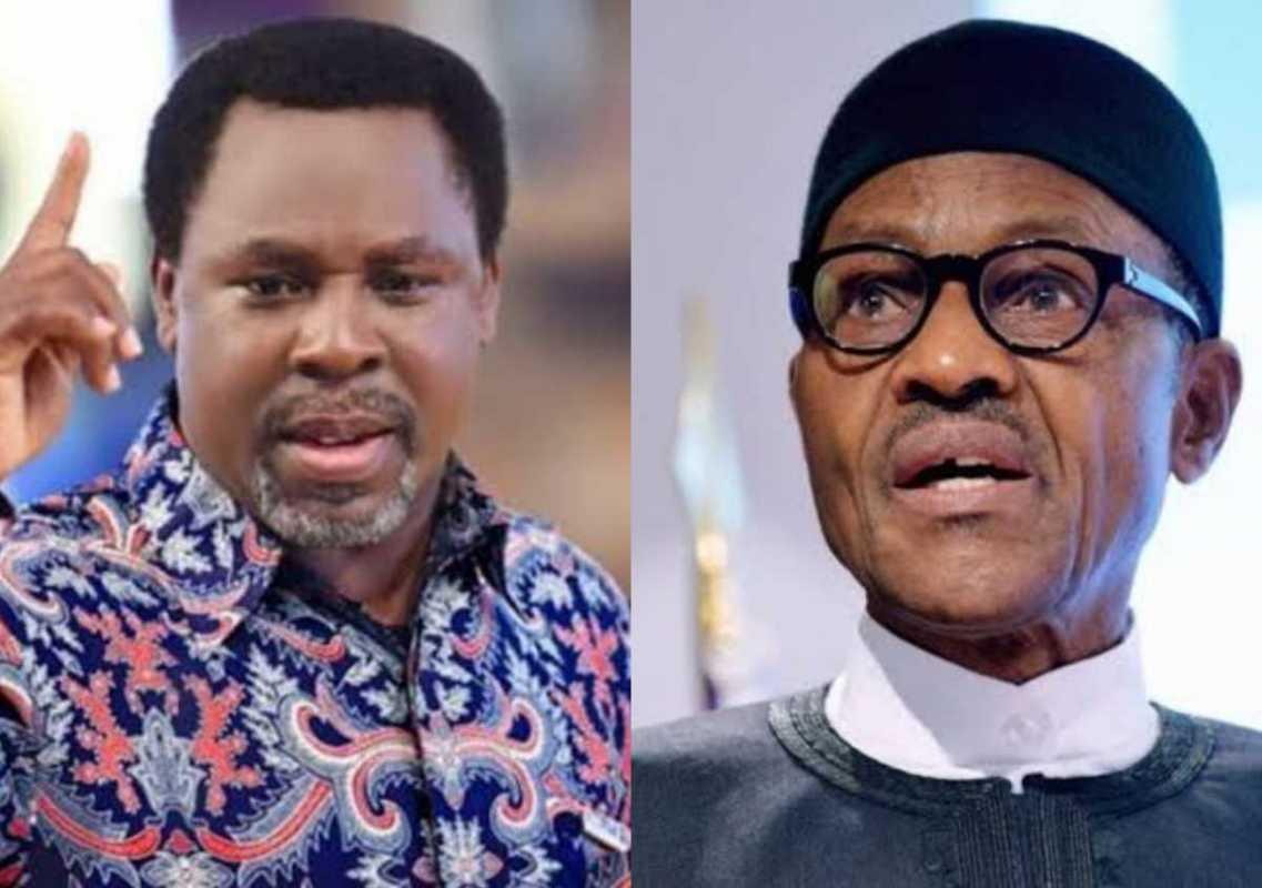 'TB Joshua Will Be Missed For Touching Many Lives'- Buhari Mourns