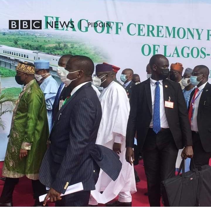Buhari Arrives In Lagos