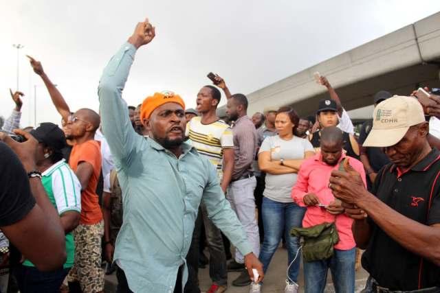 protest against the Buhari