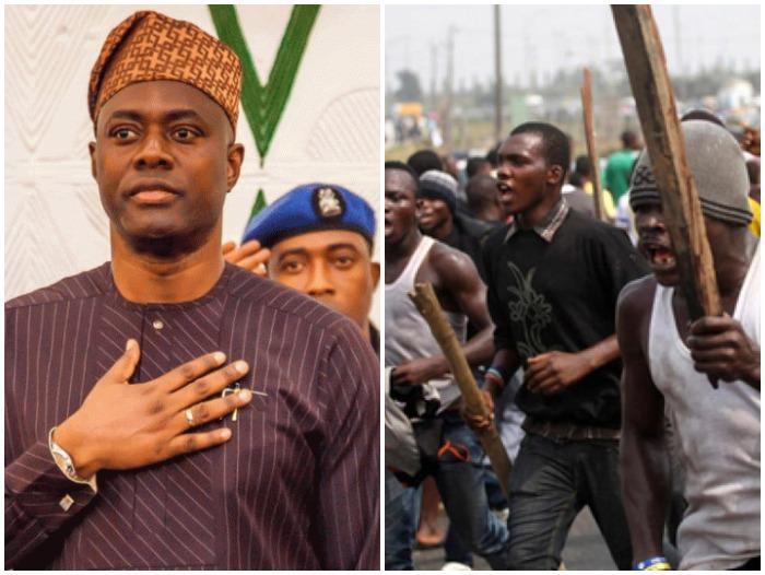 Seyi Makinde Sneaks Out