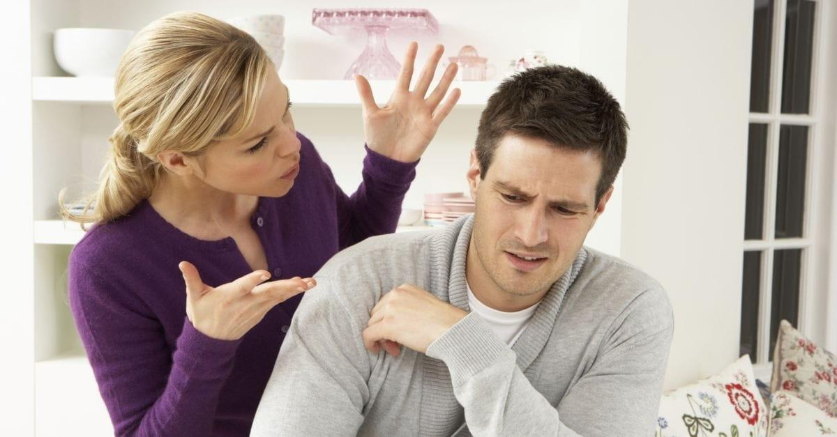 How can I deal with a nagging wife?