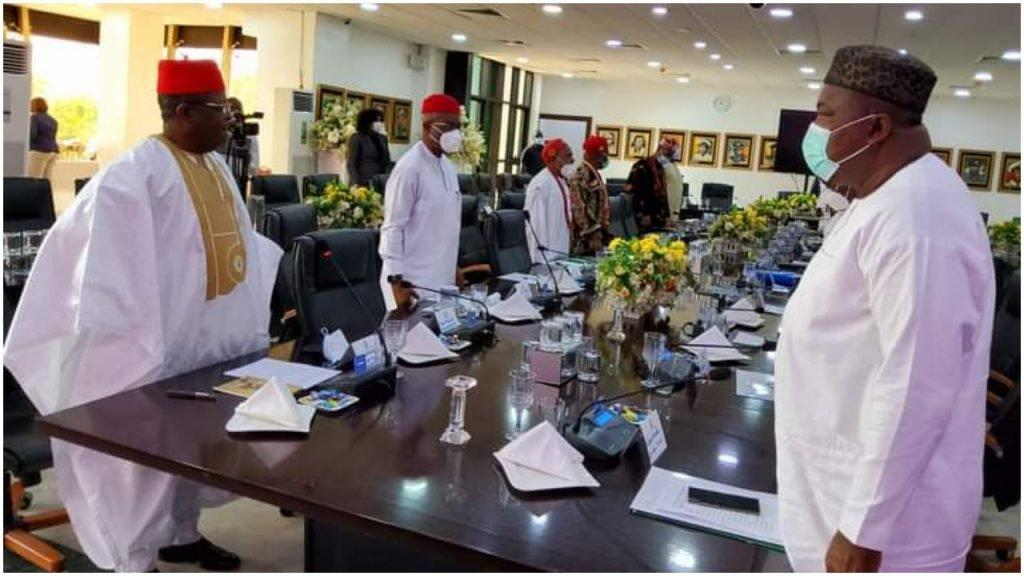 BREAKING: Southeast Governors hold emergency meeting over Insecurity