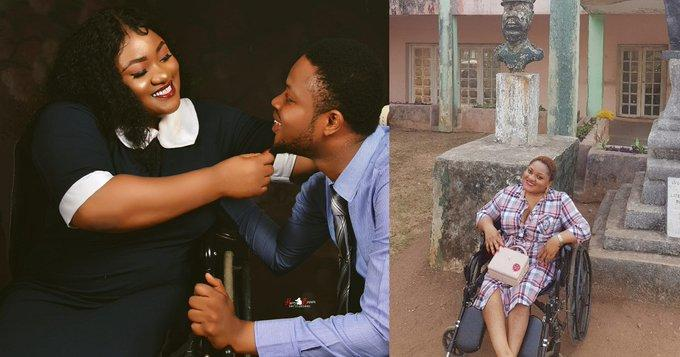 Physically challenged Nigerian pharmacist